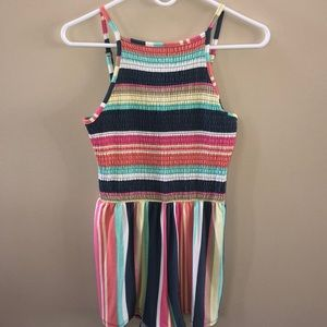 Multi-colored summer romper